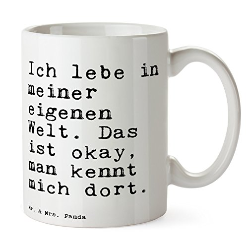Mr. & Mrs. Panda Tasse Spruch