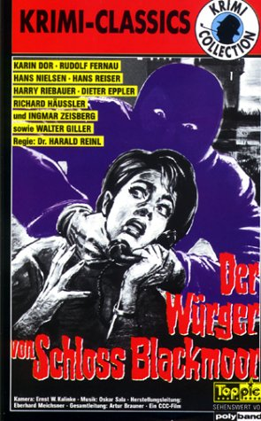 Der Würger von Schloß Blackmoor [VHS]