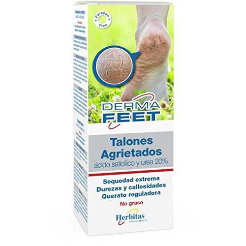Crema Talones Agrietados 60 ml (UREA 20%, ROSA MOSQUETA) incluye guia para el cuidado del pie GRATIS.