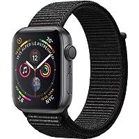 Apple Watch Seri 4 44mm GPS Uzay Grisi Alüminyum Kasa ve Siyah Spor Loop - MU6E2TU/A