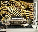 LYHBH Papier Peint Mural Auto-Adhésif (W) 400X280Cm (H) Photo 3D Pistolet Balle Garçon Fille Chambre Enfants Chambre Mur Art Mural Salon Tv Fond Mur Papier Art Décoration