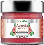 Premium Vitamin C - Acerolapulver/Acerola Kirschen - Extrakt. Gesumax. Reines Naturprodukt. Vegan. Hochkonzentriert. Fruchtiger Geschmack.