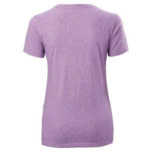 Kathmandu T-Shirt für Damen Dark Purple Marle