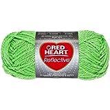 Coats Garn, Rot Herz Reflektierende Yarn-neon grün, andere, Mehrfarbig