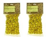 Griechische Grüne Oliven Chalkidiki tratitioneller Geschmack. Nettogewicht 800gr