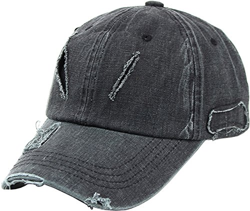 Sujii VINTAGE Look Casquette de Baseball Chapeau de Golf Baseball Cap Golf Hat Trucker Hat