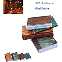 WSSB 1/12 Miniature Scene Model Dollhouse Accessories Mini Book Paper Notebook Gift