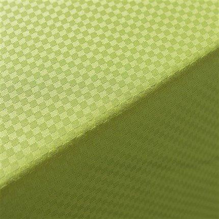 Adonie - Nappe modèle Grama, 50% coton/50% polyester, lavable en machine à laver (140*250) pistache
