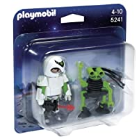 Playmobil 5241 Duo Pack Space Man with Spy Robot