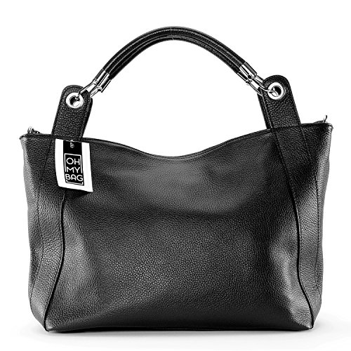 OH MY BAG PARIS, Borsa a spalla donna nero