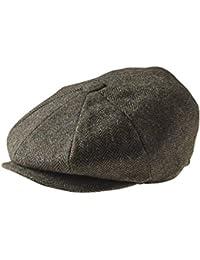 90c45b77 Peaky Blinders 8 Piece 'Newsboy' Style Flat Cap -100% Wool Fabric Variations