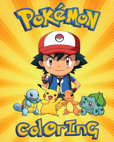 Pokemon Colouring Book For Kids Of All Ages: 100% Unofficial Pokemon Colouring book with many activities. (maze, word search, etc)