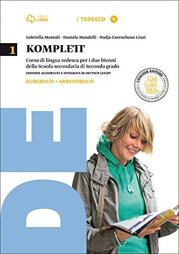 Komplett. Kursbuch-Arbeitsbuch-Fundgrube-Fit-Grammatik  la carte. Per le Scuole superiori. Con CD-ROM. Con e-book. Con espansione online: 1