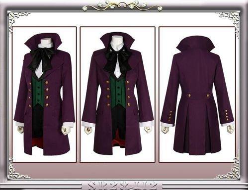 Black Butler Alois Trancy Cosplay Kostüm, Größe (Kostüm Butler Black Alois)