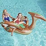 Cloodut Spielzeug Aufblasartikel Set Schlauchboot Wasserhängematte Aufblasbare Luftmatratze Pool...