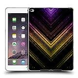 Head Case Designs Offizielle PLdesign Schatten Gold Und Purpurrot Glitzerndes Metall Soft Gel Hülle für iPad Air 2 (2014)