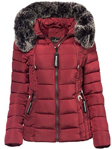 DESIRES Damen Basse Jacke Übergangsjacke Kapuzenjacke Jacke mit Kapuze Regenjacke 2
