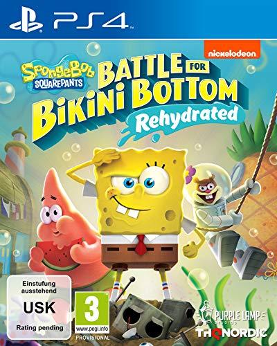 Spongebob SquarePants: Battle for Bikini Bottom - Rehydrated - Standard Edition [Playstation 4]