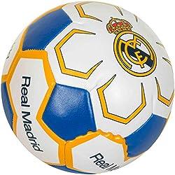 Pelota del Real Madrid suave, de 10cm (tamaño único)