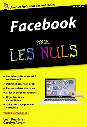 Facebook Poche Pour les Nuls, 4ème édition par Leah PEARLMAN