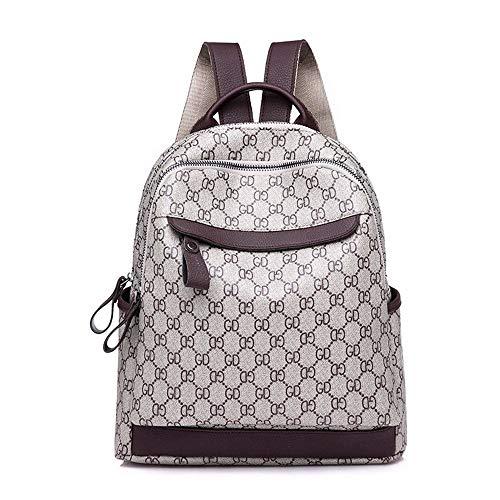 HYX Frauen Rucksack Laptop Mode Reisetasche für Teenager Mädchen College Student Schule PVC Rucksack Casual Daypack