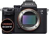 Sony Alpha 7M3 Fotocamera Digitale Mirrorless Full-Frame ad Obiettivi Intercambiabili, Sensore CMOS Exmor Full-Frame da 24.2 MP Retroilluminato, Stabilizzazione integrata, Dual Slot, ILCE7M3B, Nero