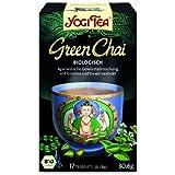 Yogi Tee, Green Chai Ayurvedische Teemischung, Biotee, 17 Teebeutel, 30,6g