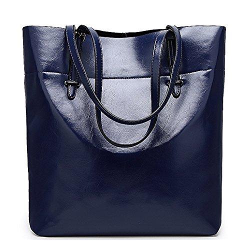 Keshi Niedlich Damen Handtaschen, Hobo-Bags, Schultertaschen, Beutel, Beuteltaschen, Trend-Bags, Velours, Veloursleder, Wildleder, Tasche Tiefblau