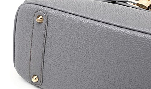 FZHLY 2017 Nuovo E Europea Della Serratura Di Moda Americano Shoulder Bag Messenger Per Le Donne,Black Black