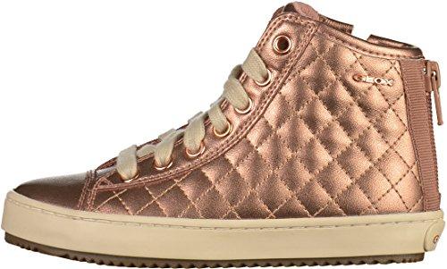 Geox Unisex-Erwachsene J Kalispera Girl F Hohe Sneaker Pink (Old Rose)