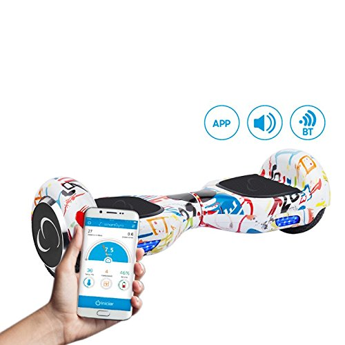 """SmartGyroX2, Patinete eléctrico con batería Samsung y certificado UL2272, color urban, talla 6.5"""""""