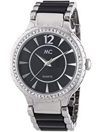 MC Timetrend Damen-Armbanduhr Analog Quarz Metallband 50054