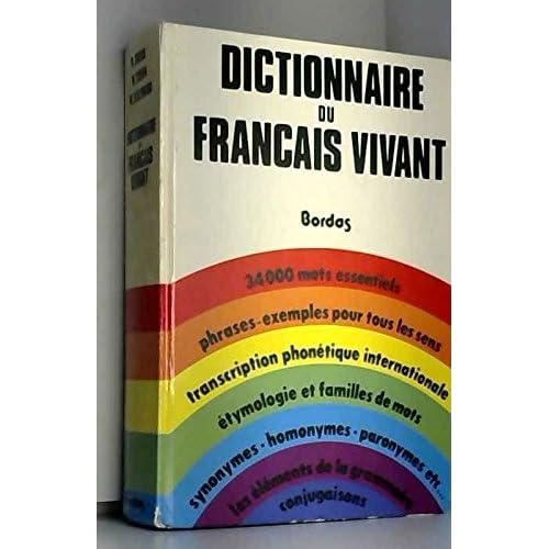 Dictionnaire du français vivant