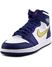 Nike Air Jordan 1 Retro High Bg, Zapatillas de Baloncesto para Hombre