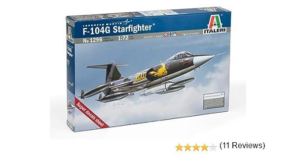 F 104 g recce starfighter kit 1:72 aerei scala italeri modellismo