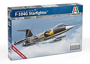 Italeri 1296S  - Maqueta de aviación, caza F-104 G (escala 1:72) Importado de Alemania