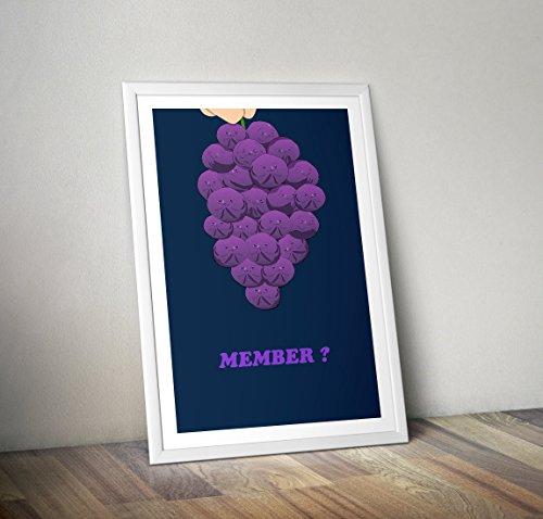 Mitglied Beeren Poster - South Park Print - Alternative TV / Filmdrucke in verschiedenen Größen (Rahmen nicht im Lieferumfang enthalten) - Park Schlafzimmer