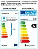 Bodenstrahler GARDENO IP68 inkl. Erdspieß 230V; SMD LED 5,0 Watt; Warm-Weiß; Bodenleuchte Gartenstrahler Teichleuchte Außenstrahler Außenleuchte; Leuchtmittel austauschbar Test