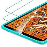 ESR Protector de Pantalla para iPad Mini 5 2019/iPad Mini 2019[2 Piezas], [Marco de Fácil Instalación], [Resistente a los Arañazos] en Vidrio Templado 9H Dureza HD Apple iPad Mini 5