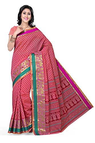 Rani Saahiba Cotton Saree (Skr1087_Pink)