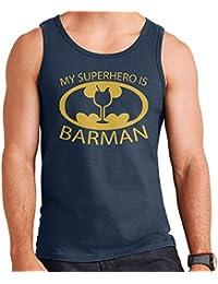 Batman My Hero Is Barman Men's Vest