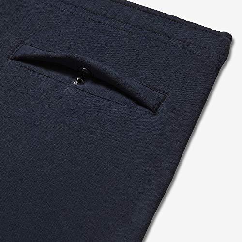 Nike Men's M NSW CLUB JGGR BB Pants, Obsidian/White, L Img 3 Zoom