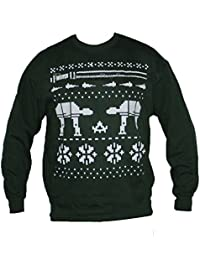 Green Christmas Star master Jumper Galaxy Wars Sweater