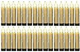 30er kabellose LED Christbaumkerzen Baumkerzen Timer Flackern Dimmen