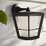 Philips Hue White & Color Ambiance Econic Außenwandleuchte, schwarz, Laterne hängend | Wandlampe...