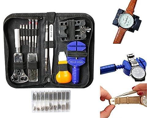 294 teiliges Professionelles Uhr Reparieren Werkzeug Uhrmacher