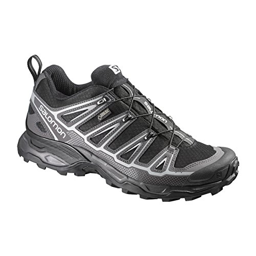 Salomon X Ultra 2 Spikes GTX Men Black/Autobahn/alluminio, nero,