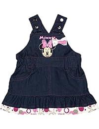 Minnie Mouse Jeans Latzkleid Latz-Rock mit schönen rosa Details