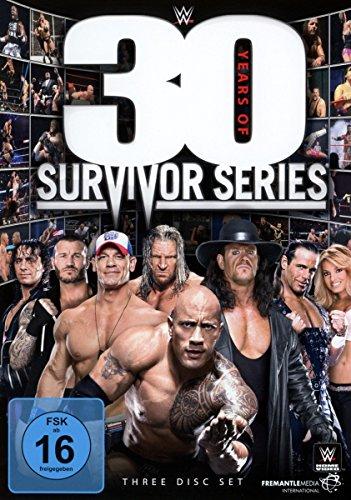 WWE - 30 Years of Survivor Series [3 DVDs]