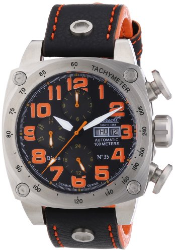Ingersoll Herren-Armbanduhr BisonN0.35 Analog Automatik IN2808BKOR